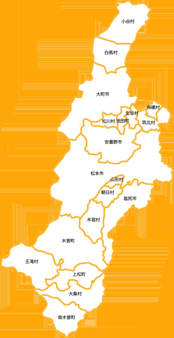 中信地区地図
