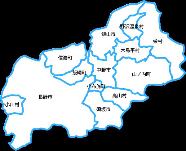 長野地区地図