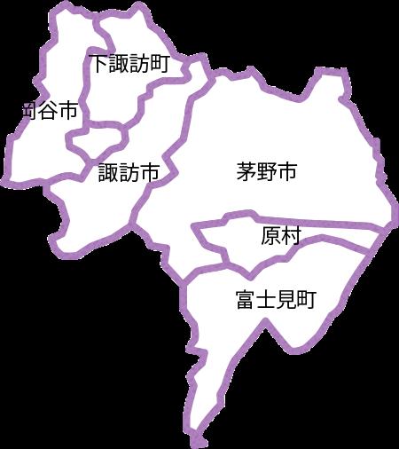 諏訪地区地図