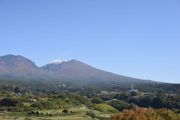 どこからでも望める浅間山の写真