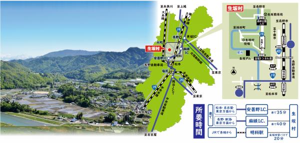生坂村へ移住をお考えの方への写真